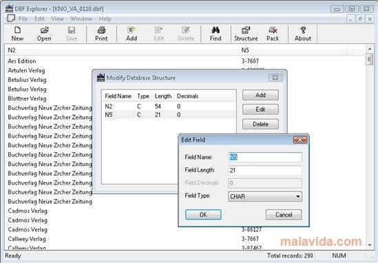DBF Explorer 1 0 Build 005 - Download for PC Free