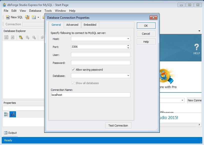 dbForge Studio for MySQL 8 2 Express - Download for PC Free