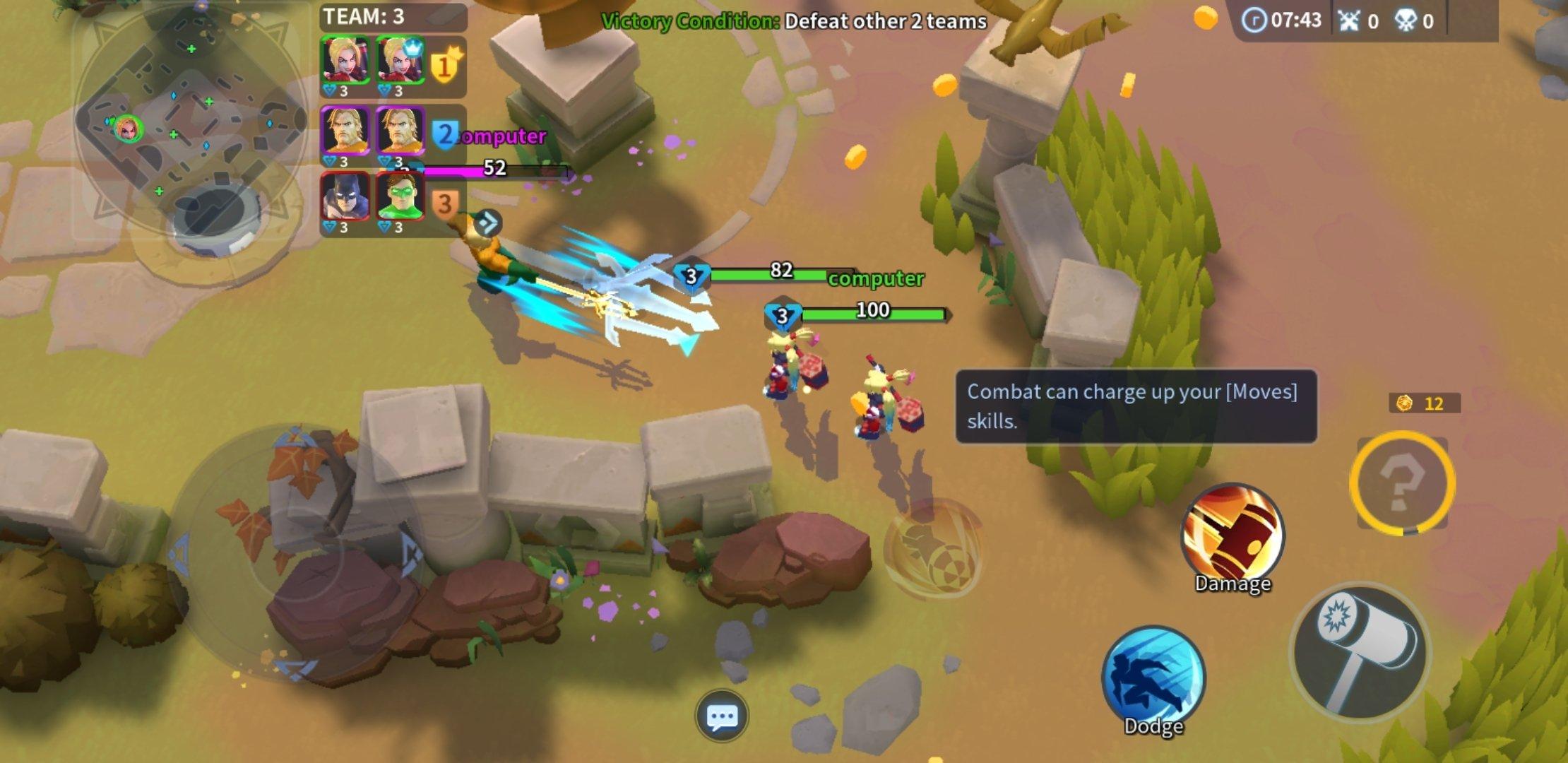 DC Battle Arena 1.0.10 - Baixar para Android APK Grátis
