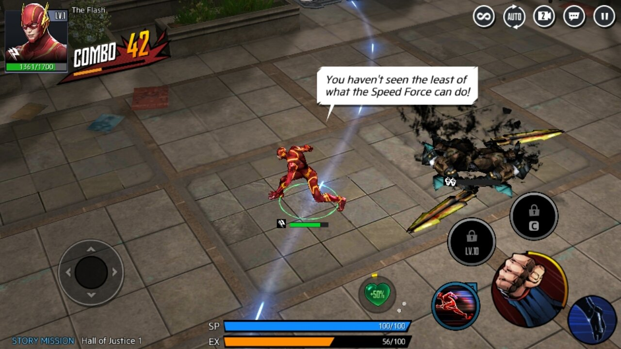 DC Unchained 1 2 1 - Download for Android APK Free