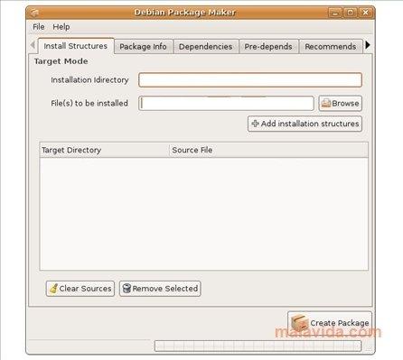 Debian Package Maker Linux image 3