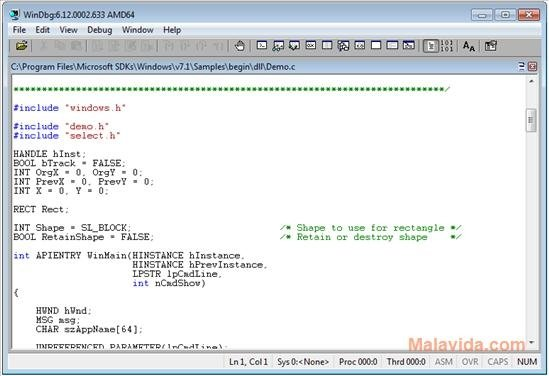 Debugging Tools for Windows 6 12 0002 633 - Download for