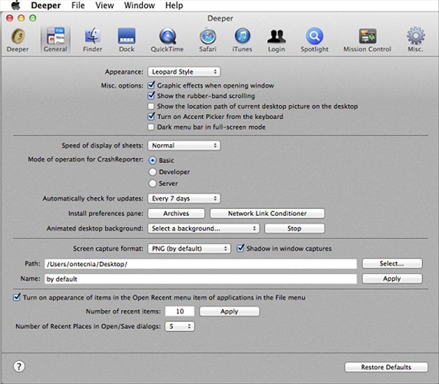 Deeper Mac image 6