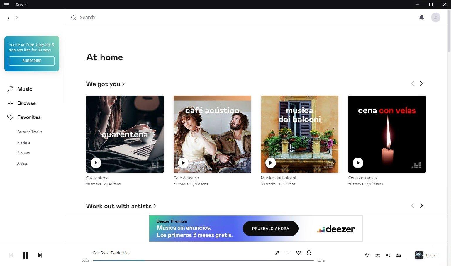 how to download music deezer