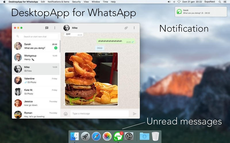 DesktopApp for WhatsApp Mac image 5