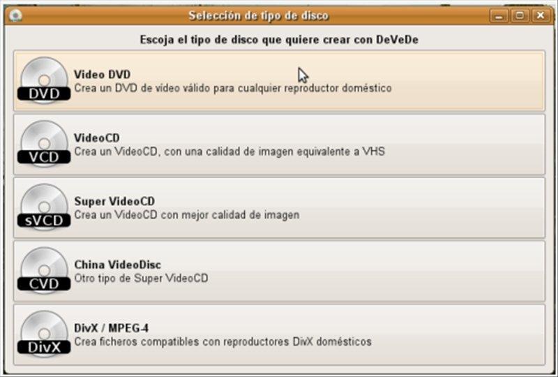 DeVeDe Linux image 3