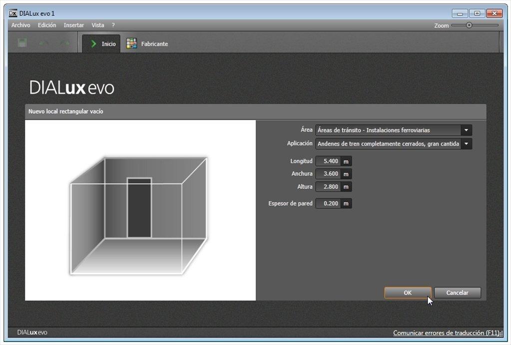 DIALux Evo 2 5.2.2