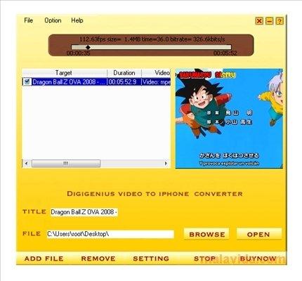 DigiGenius Video to iPhone Converter image 3