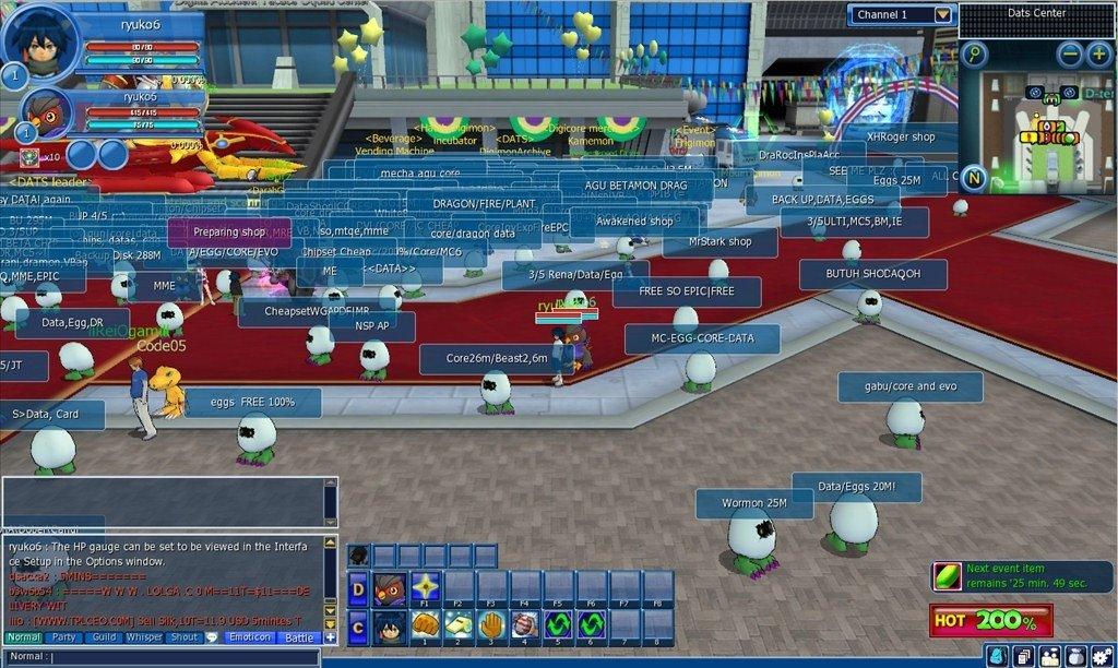 Digimon Masters Online Espanol