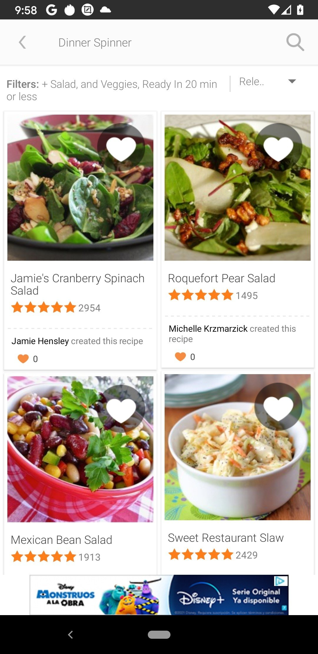 Allrecipes Dinner Spinner 6 5 6 - Download for Android APK Free