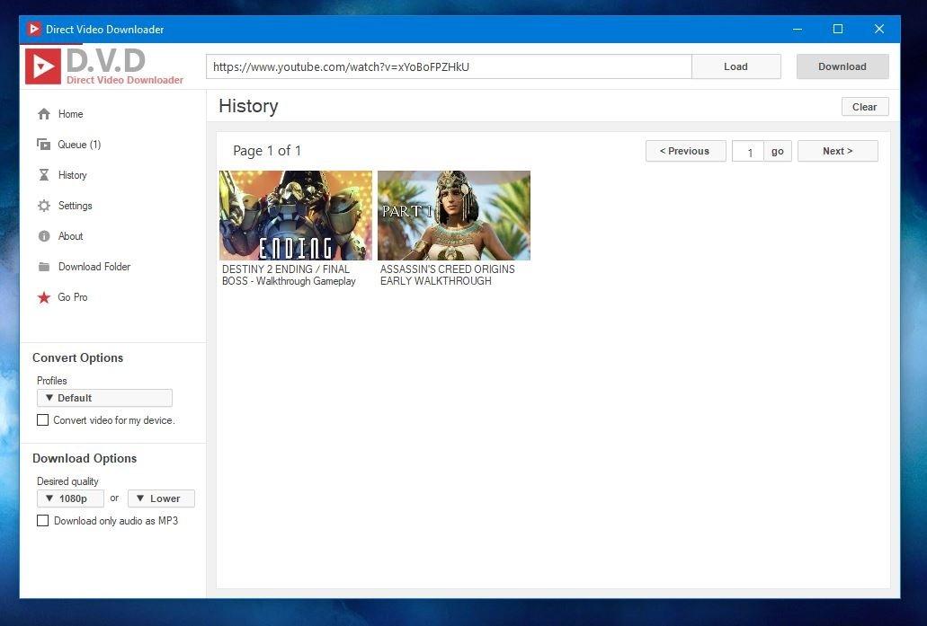 Direct Youtube Downloader 2 12 - Baixar para PC Grátis