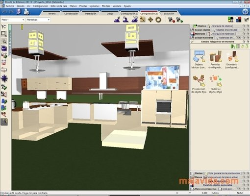 Descargar dise o de interiores 3d 7 0 gratis en espa ol for Software diseno de interiores gratis