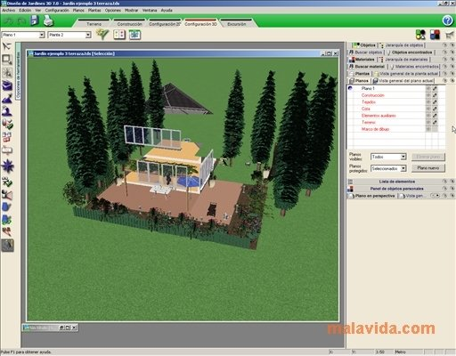 Descargar dise o de jardines 3d 7 0 gratis en espa ol for Diseno de interiores 3d data becker