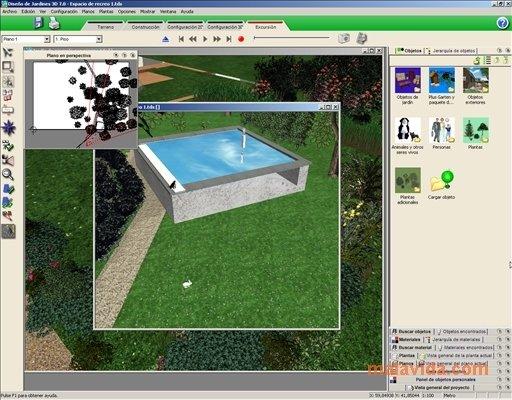 Dise o de jardines 3d 7 0 descargar para pc gratis - Programa diseno de jardines ...