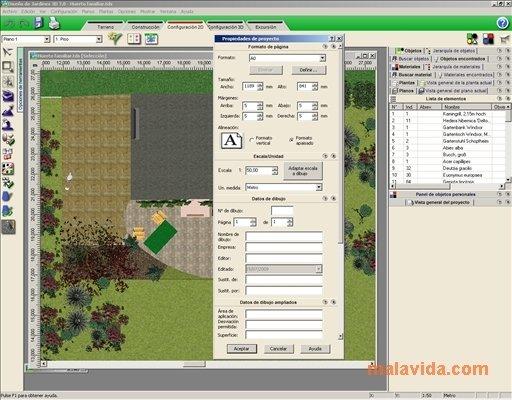 Dise o de jardines 3d 7 0 descargar para pc gratis for Diseno de jardines y exteriores 3d