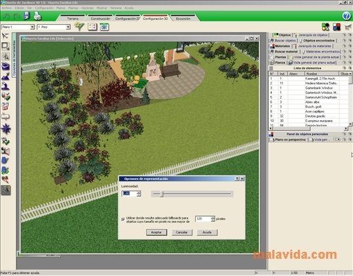 Dise o de jardines 3d 7 0 descargar para pc gratis for Programa para disenar jardines gratis en espanol