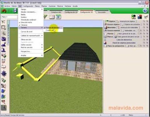 Descargar dise o de jardines y exteriores en 3d 2 0 for Programa para hacer planos gratis en espanol
