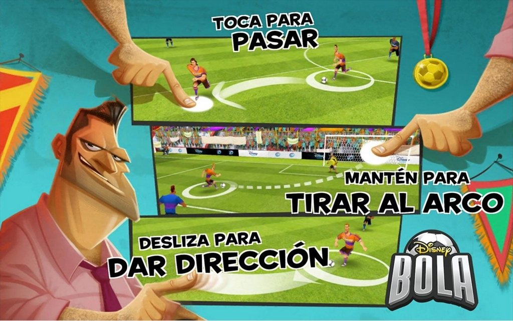 Disney Bola Soccer Android image 5