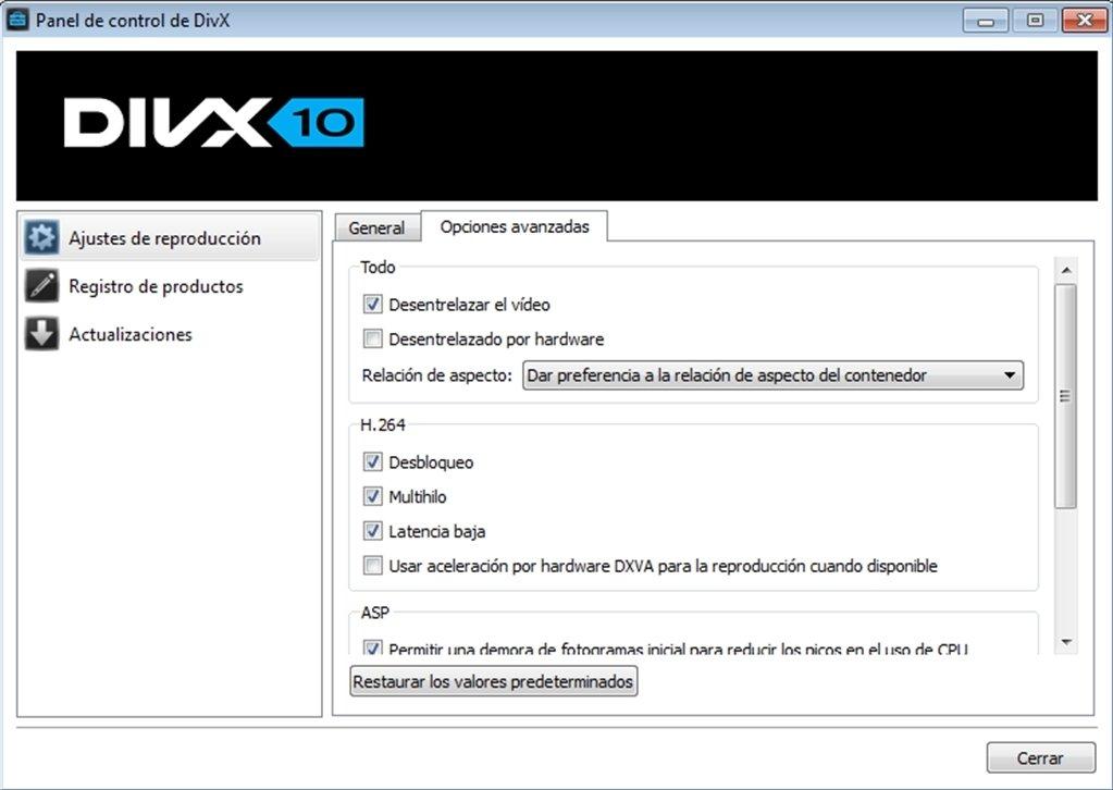 TÉLÉCHARGER DIVX PRO VFW CODEC 6.8.0