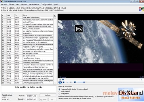 DivXLand Media Subtitler image 4