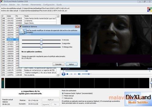 o programa divxland media subtitler