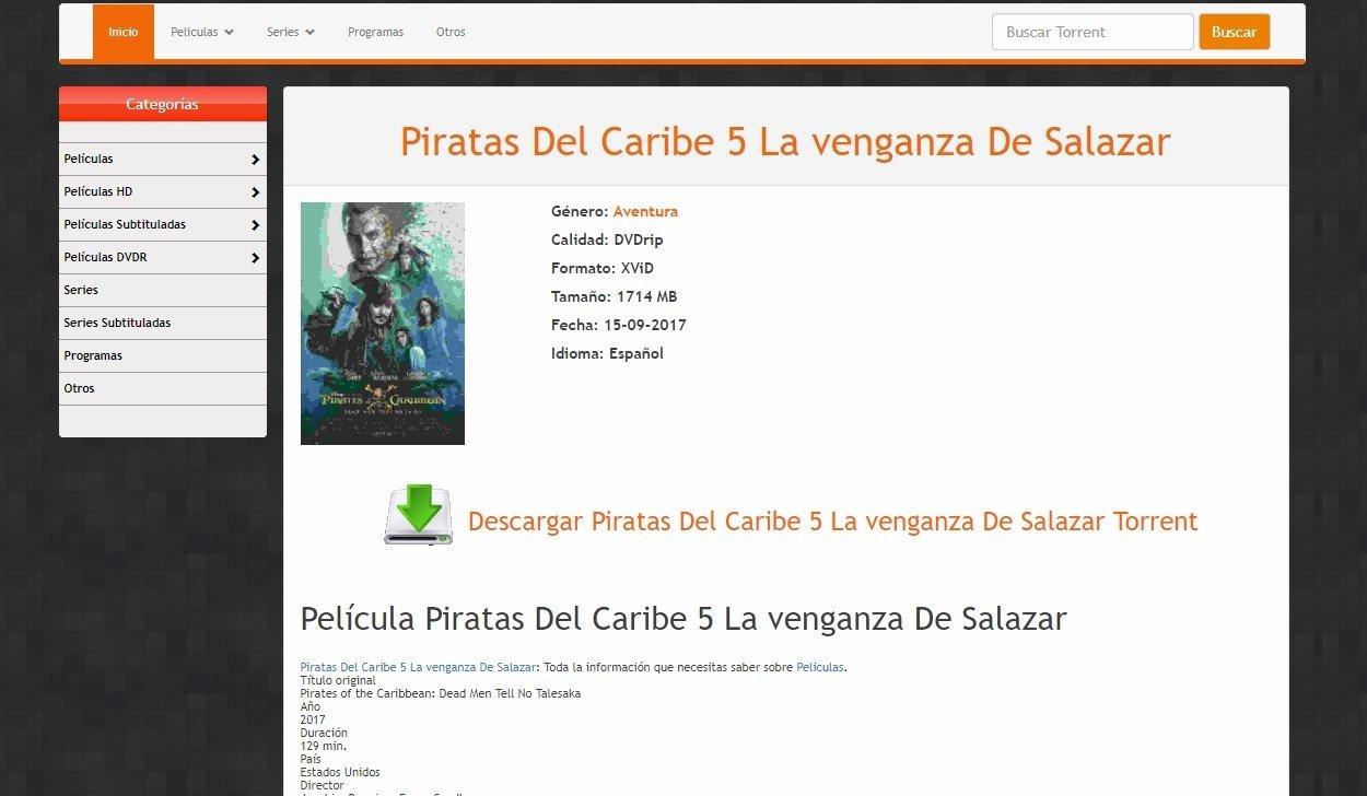 descargar peliculas utorrent en español latino hd 2017