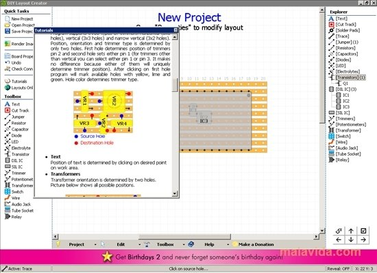 Download DIY Layout Creator 1.23 - Kostenlos