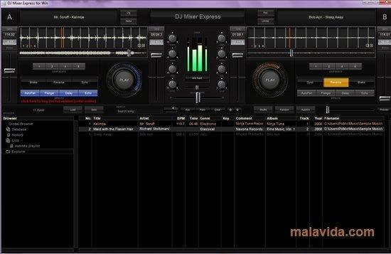 DJ Mixer Express 2.0.3