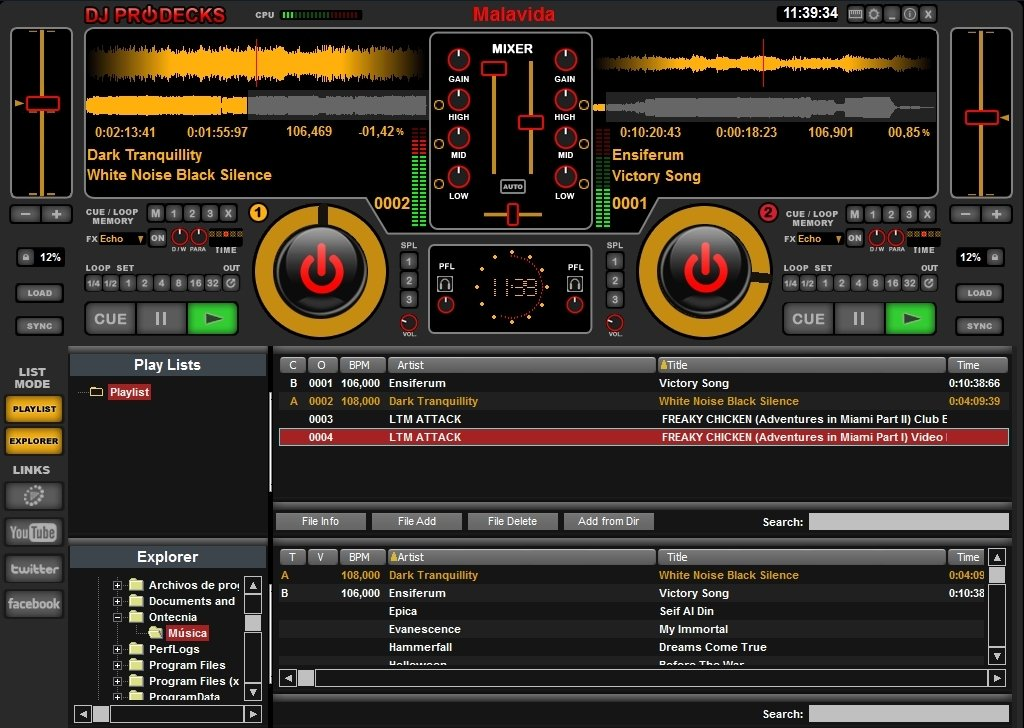 DJ ProDecks 2 0 - Download for PC Free