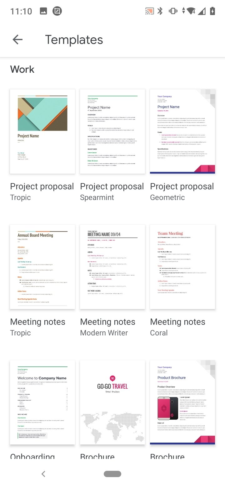 google docs android free download