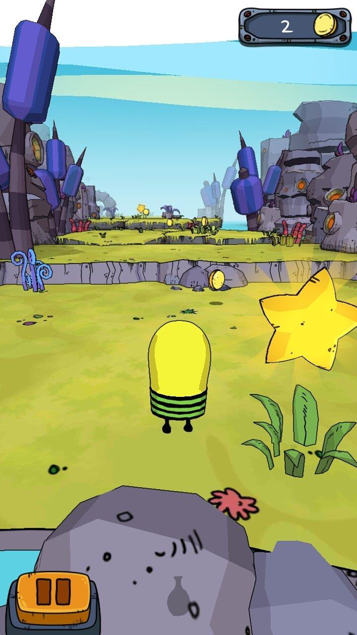 o jogo doodle jump para celular gratis