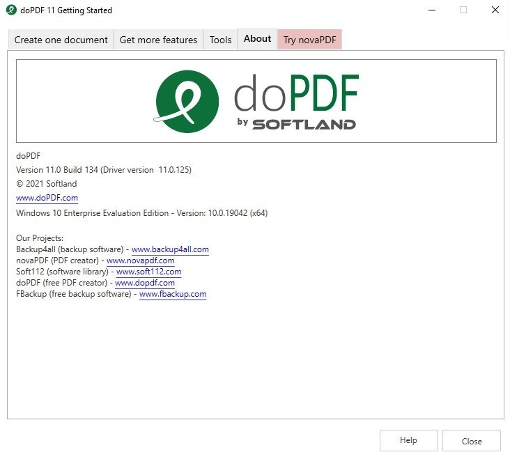 dopdf gratis in italiano