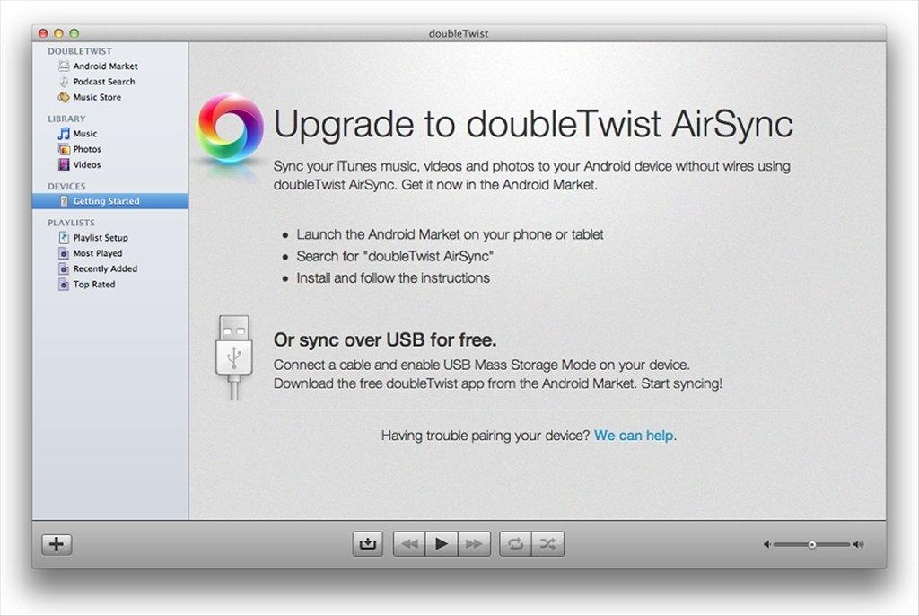 doubleTwist Mac image 4