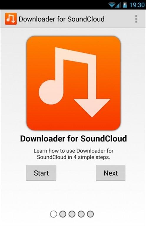 Downloader SoundCloud Android image 5