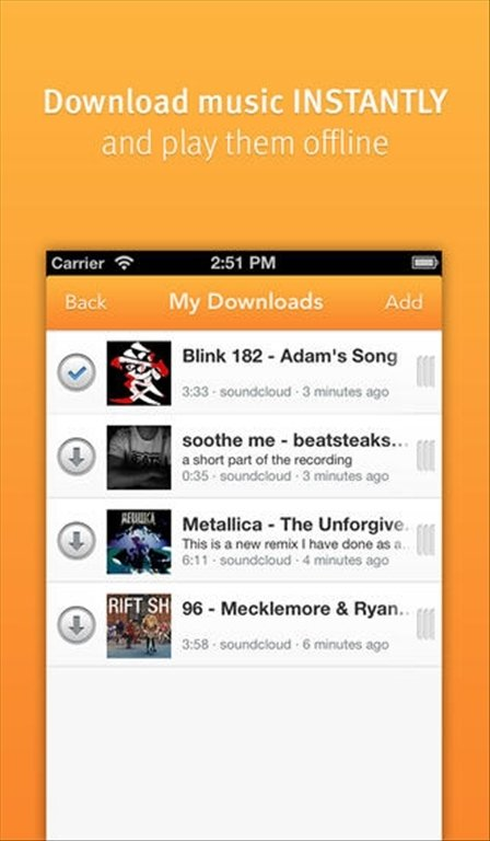 Downloader SoundCloud iPhone image 5