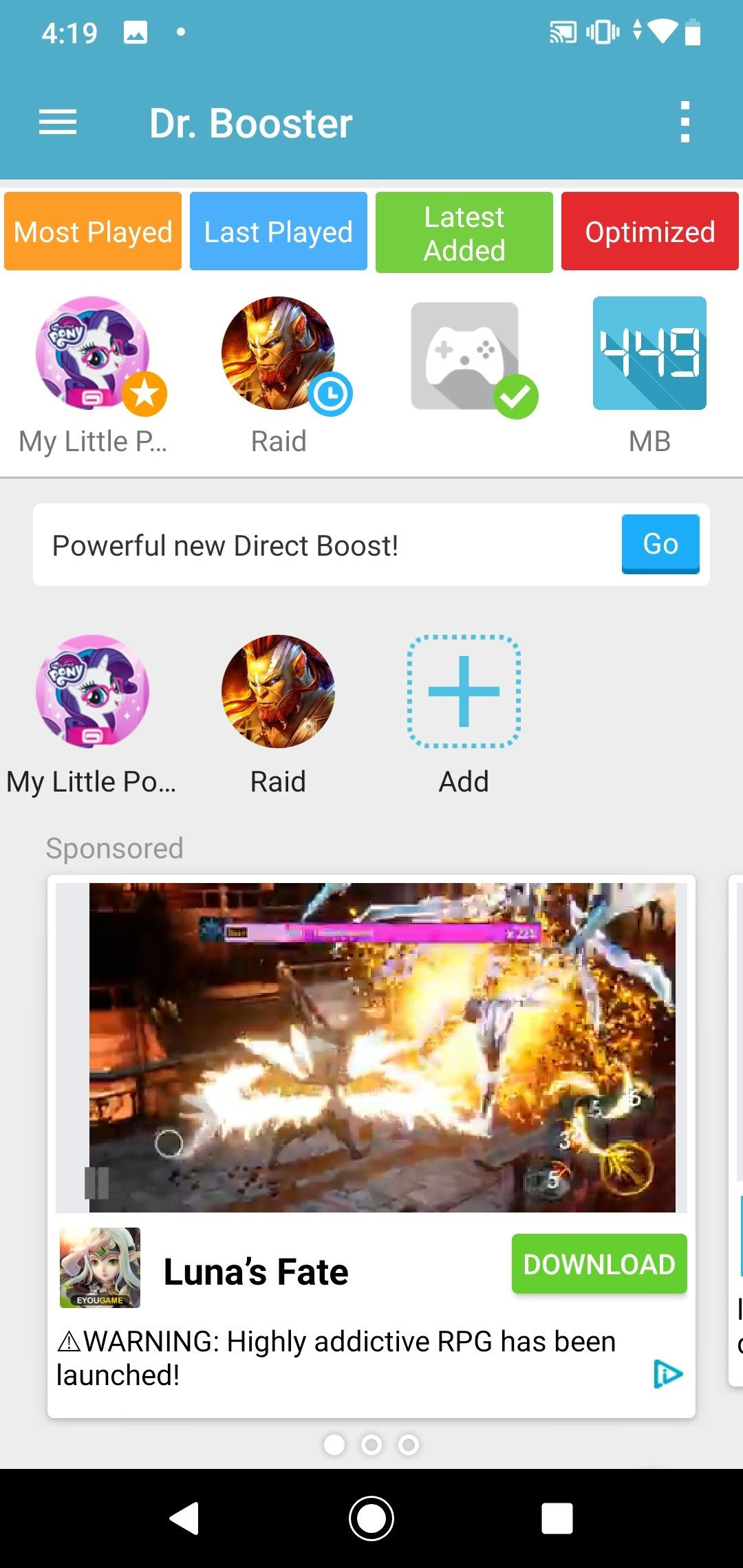 Dr  Booster 2 0 1077 - Download for Android APK Free