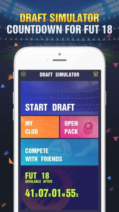 Draft Simulator for FUT 18 - Download for iPhone Free