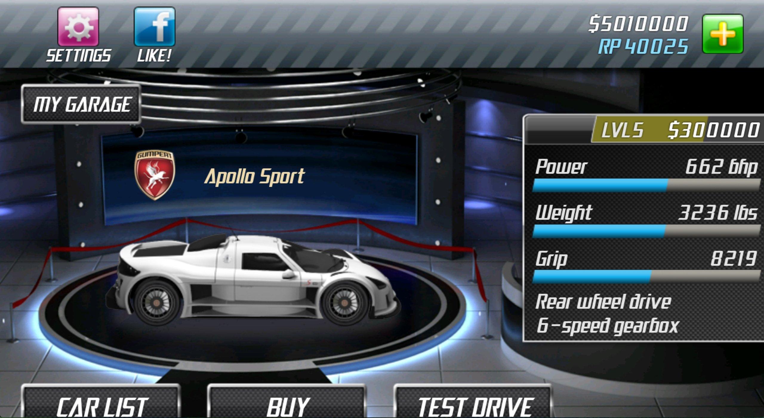 download drag racing simulator mod apk