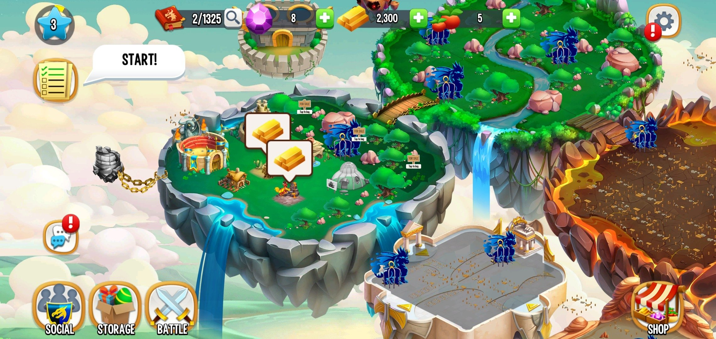 Dragon City Android image 8