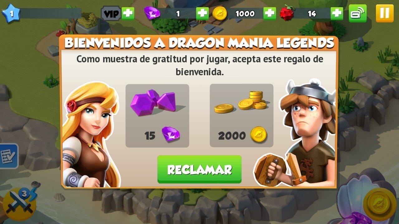 Dragon mania legends gioco gratis
