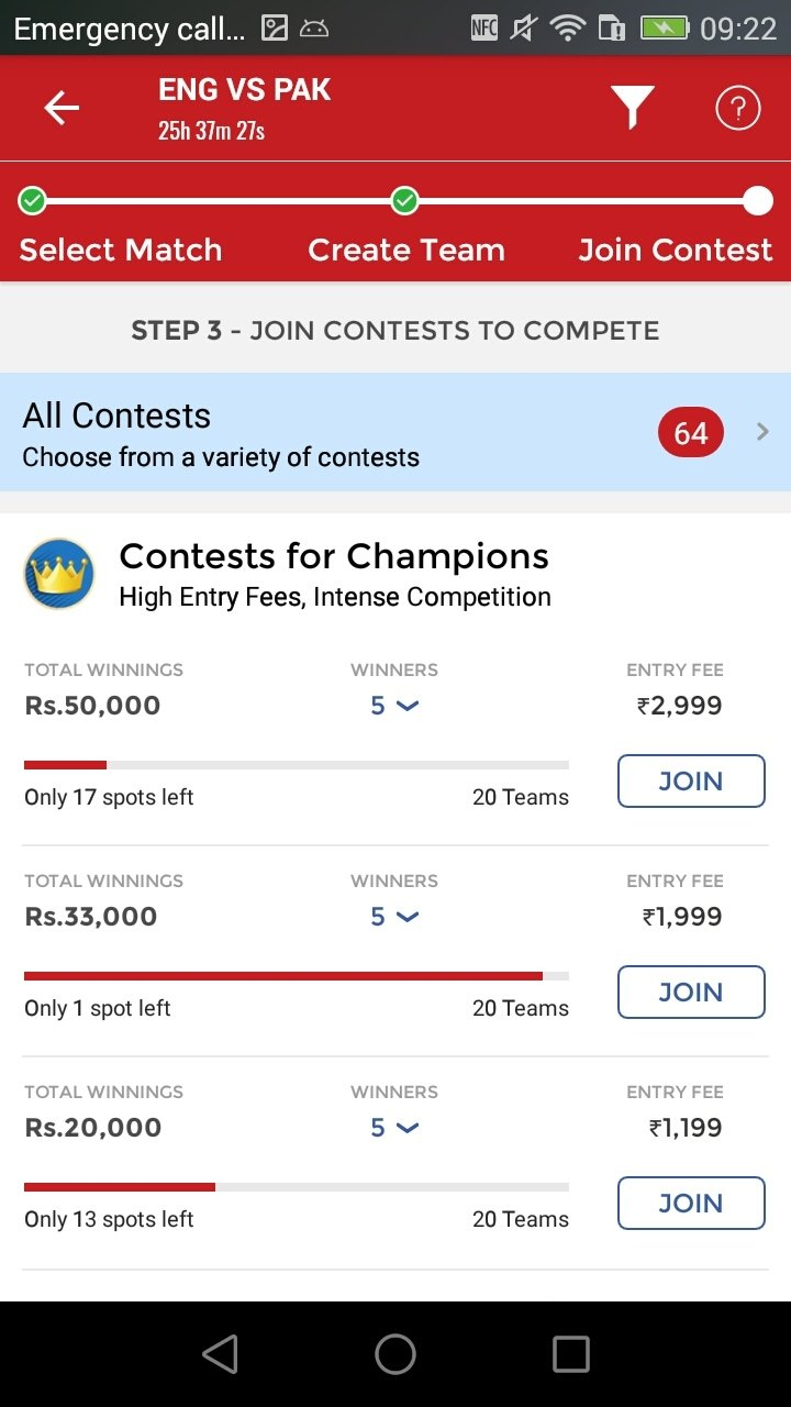 Dream11 Sports (Free Leagues) 3 36 0 - Download for Android APK Free