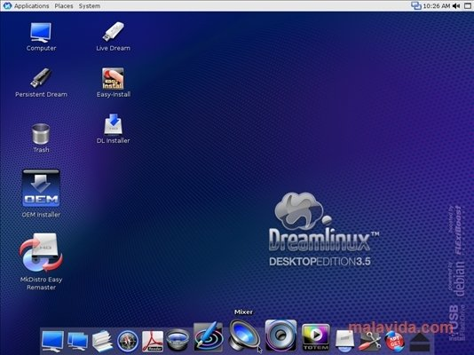 dreamlinux 3.5