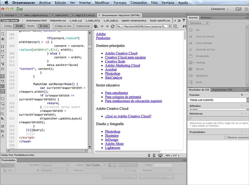 Conventional Steps to Uninstall Adobe Dreamweaver CS6 for Mac
