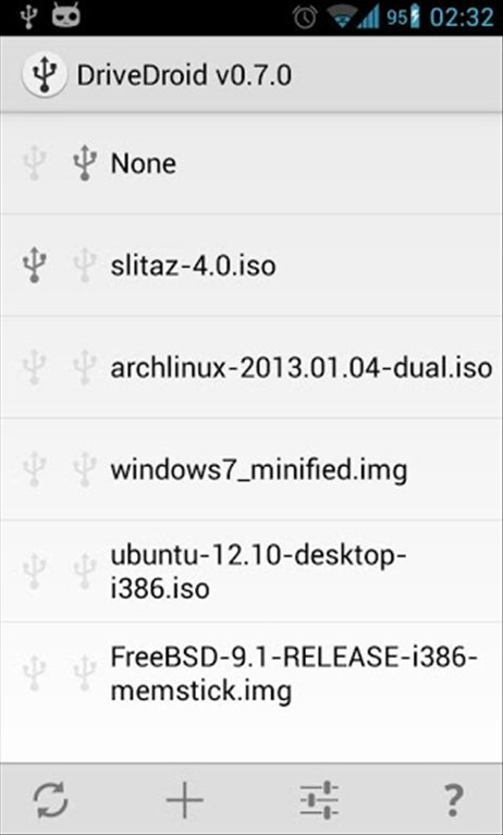 DriveDroid Android image 4