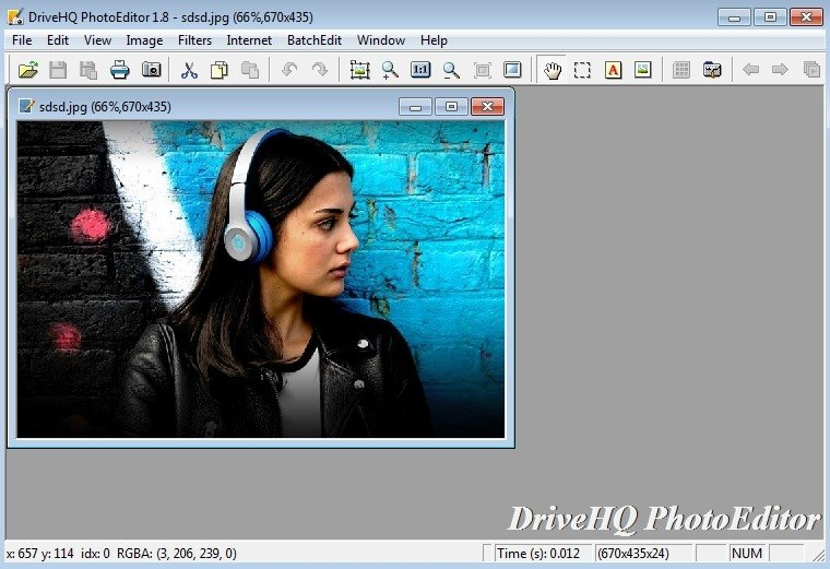 DriveHQ Batch PhotoEditor image 5