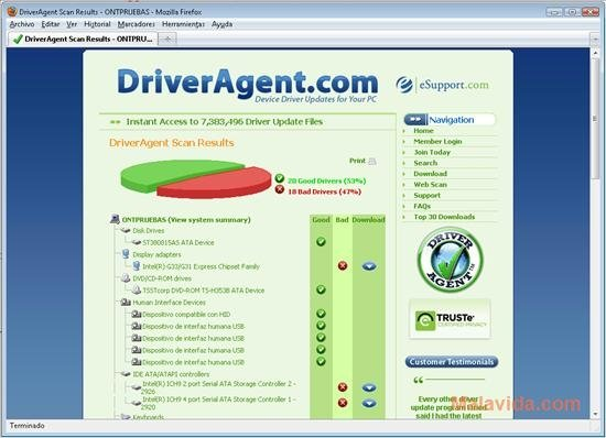 Driver Agent 2.2011.6.15