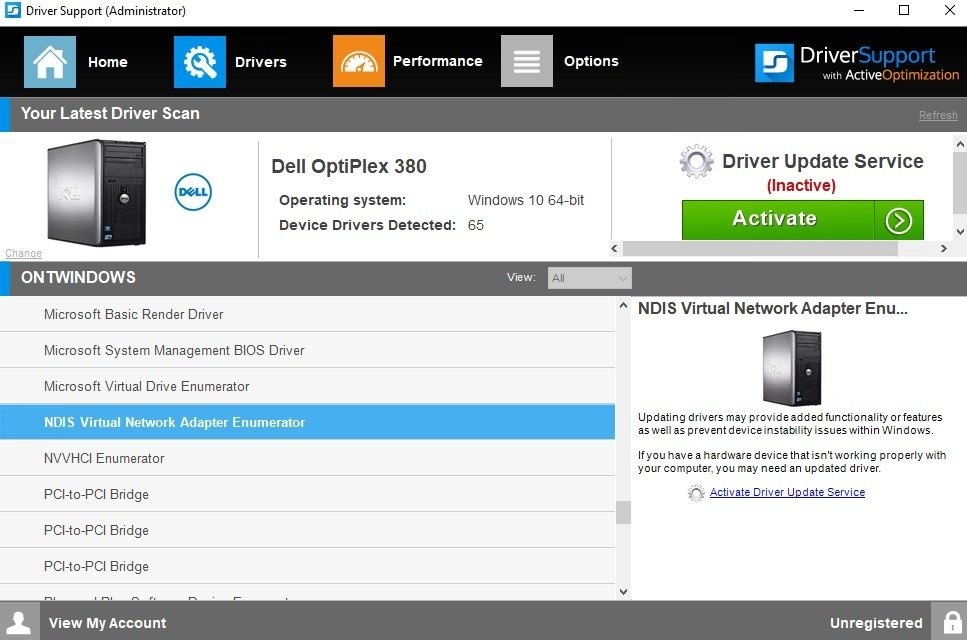 Driver Support (Driver Detective) 10 1 6 14 - Download for