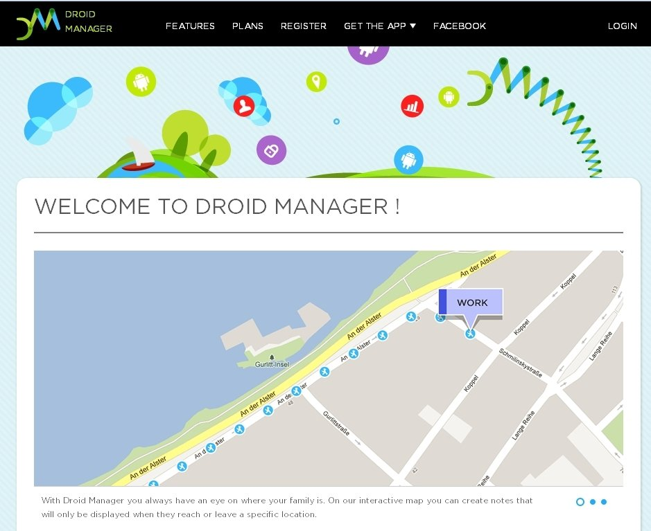 Droid Manager Webapps image 4