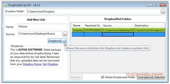 Dropboxifier image 2