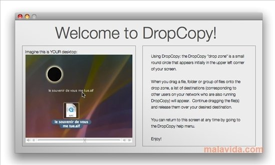 dropcopy mac